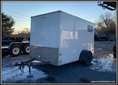 Used 2012 Horton Enclosed Cargo Trailer 6'x10'x3K C1044525