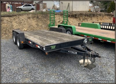 Used 2008 Quality Car Hauler Trailer