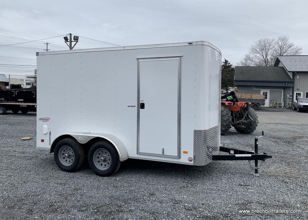 Bravo Scout Enclosed Cargo Trailer SC612TA2