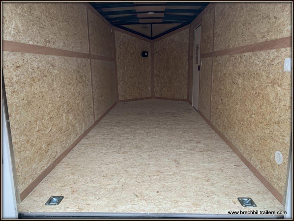 Bravo Scout Enclosed Cargo Trailer SC716TA2