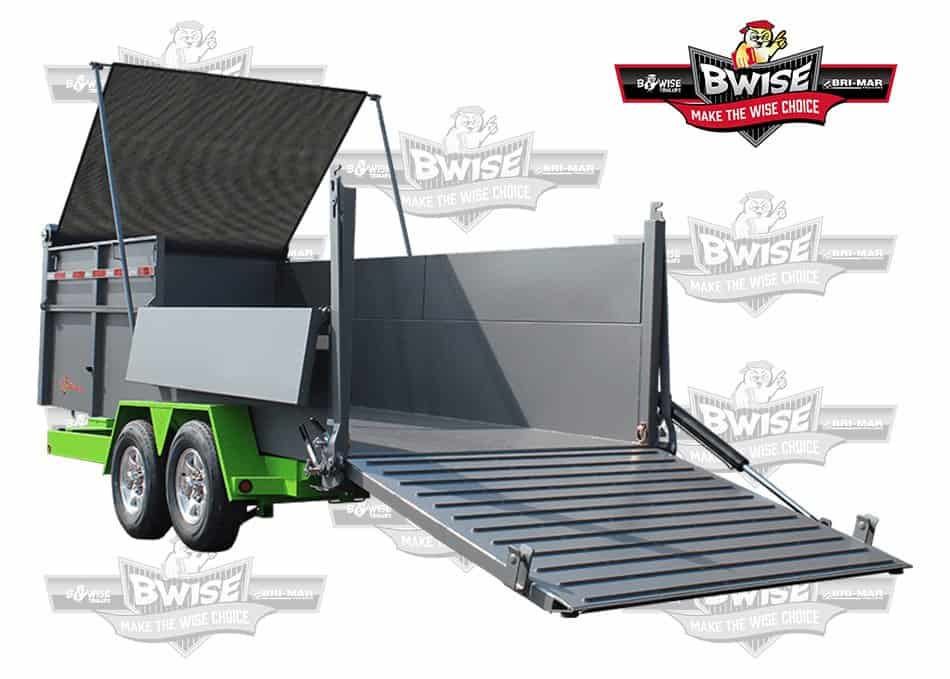 Ultimate Dump Showing Features Bwise Trailers at Brechbill Trailer Sales