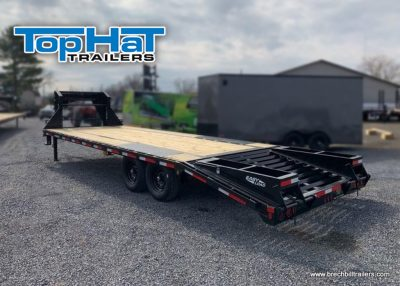 GN159 TopHat Deck Over Gooseneck Low Pro Trailer