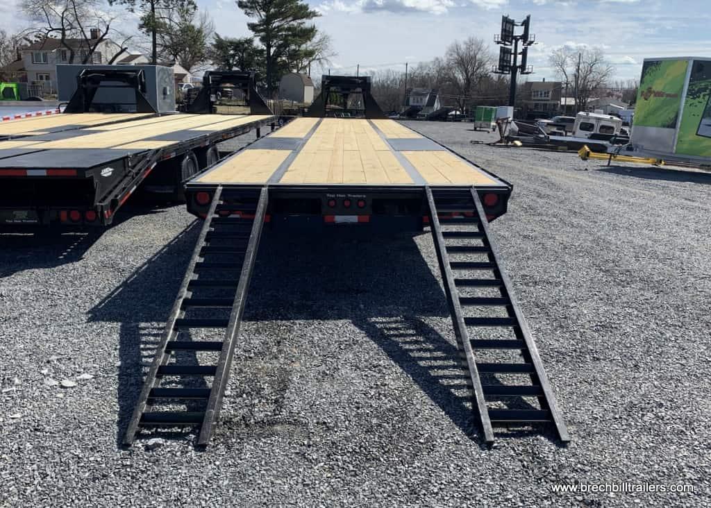 GN259 TopHat Deck Over Gooseneck Low Pro Trailer