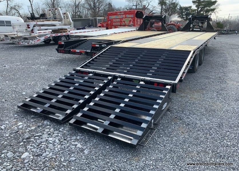 GN259 TopHat Heavy Duty Deck Over Gooseneck Low Pro Trailer