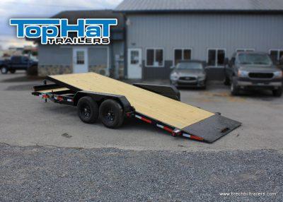 TopHat Tilt Deck Car Hauler Trailer TCH100-20x83-9.9E-Q