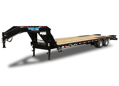 TopHat Gooseneck Trailer Deck Over Low Pro