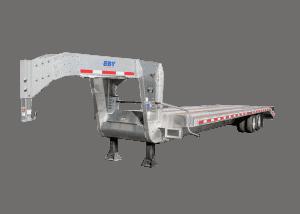 Aluminum Gooseneck Trailer Deck Over