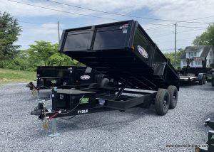 BLACK DUMP TRAILER BRI-MAR STEEL