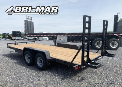 BLACK BRI-MAR EQUIPMENT TRAILER FENDER STYLE