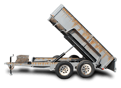 used & clearance trailers for sale dump trailer Picture