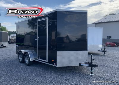 BLACK ENCLOSED TRAILER FOR SALE