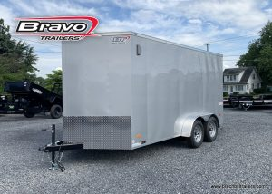 SILVER BRAVO SCOUT BOX ENCLOSED CARGO TRAILER FOR SALE