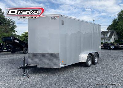 SILVER BRAVO SCOUT BOX ENCLOSED CARGO TRAILER FOR SALE