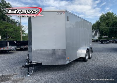 SILVER BRAVO ENCLOSED CARGO BOX TRAILER FOR SALE