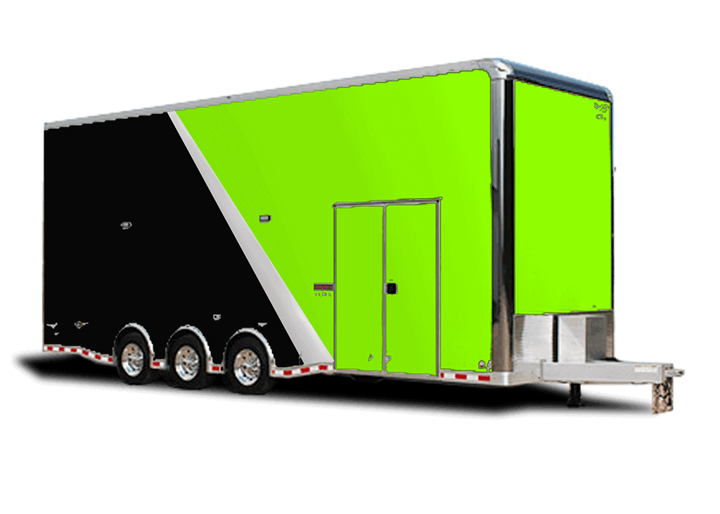 tall enclosed icon bravo box trailer