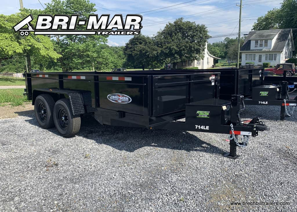 BLACK DUMP TRAILER FOR SALE NEAR ME STEEL