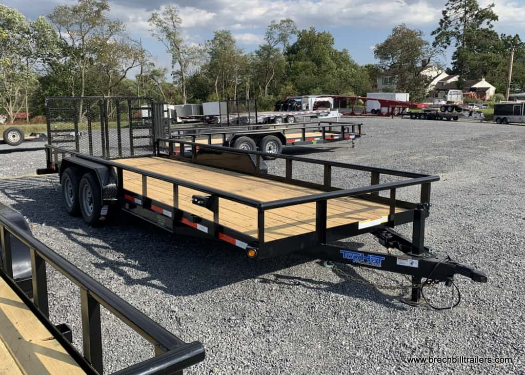 BLACK LANDSCAPE UTILITY TRAILER FOR SALE NEAR ME