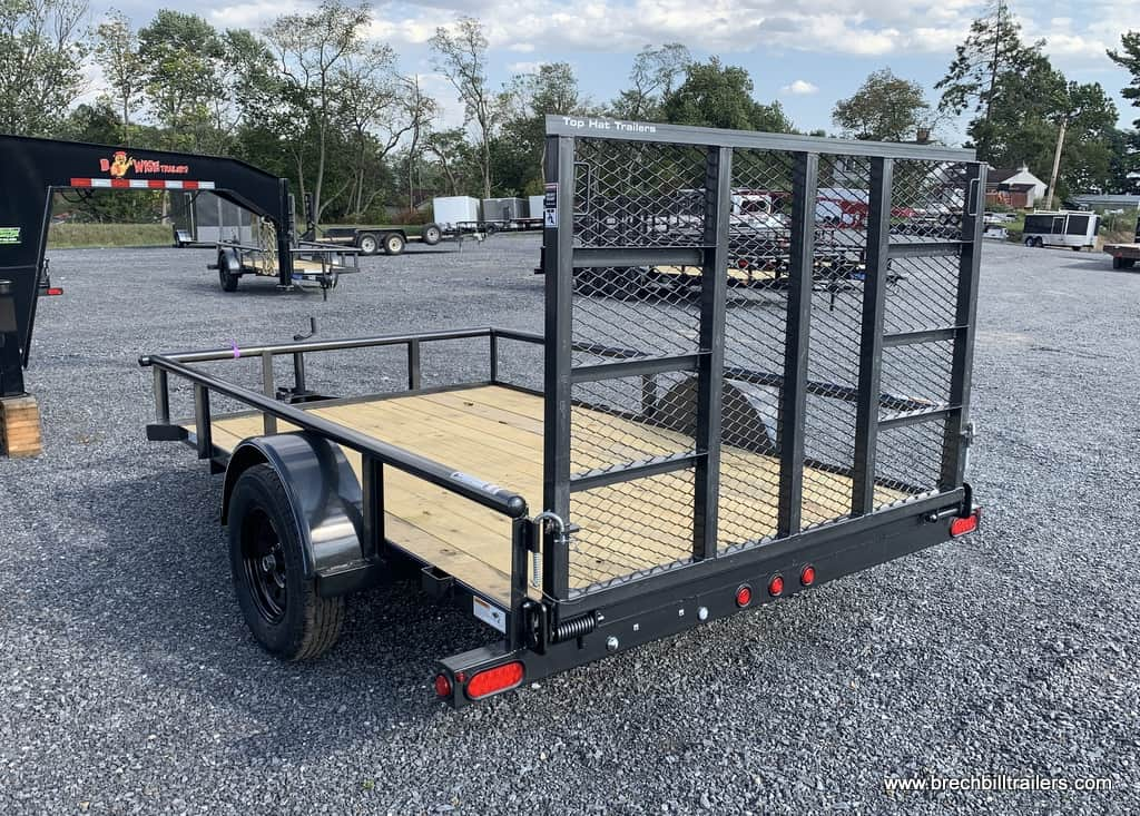 GRAY TOP HAT UTILITY TRAILER FOR SALE NEAR ME
