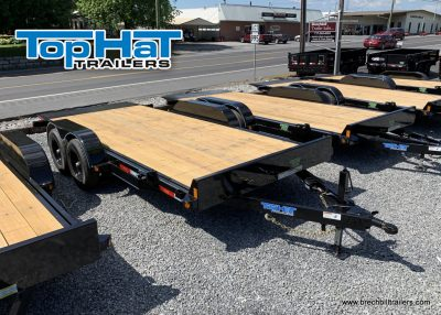 BLACK TILT TRAILER FOR SALE TOP HAT TRAILERS