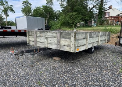 Used Trailer for sale small wood