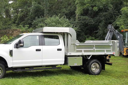 EBY FULLBACK GENERAL PURPOSE DUMP BODY