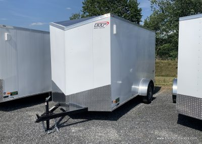WHITE ENCLOSED CARGO BOX TRAILER FOR SALE NEAR ME