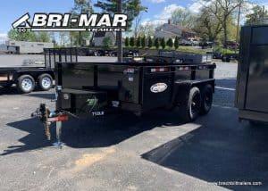 BLACK DUMP TRAILER BRI-MAR BRECHBILL TRAILER SALES