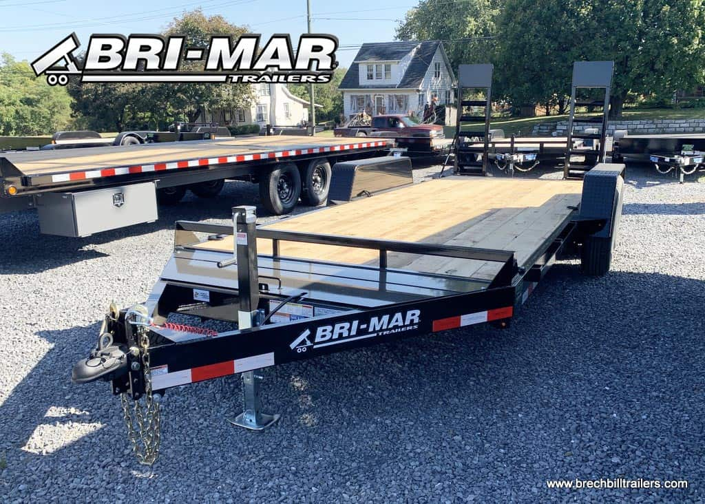 BLACK EQUIPMENT TRAILER FOR SALE NEAR ME SKIDLOADER TRAILER
