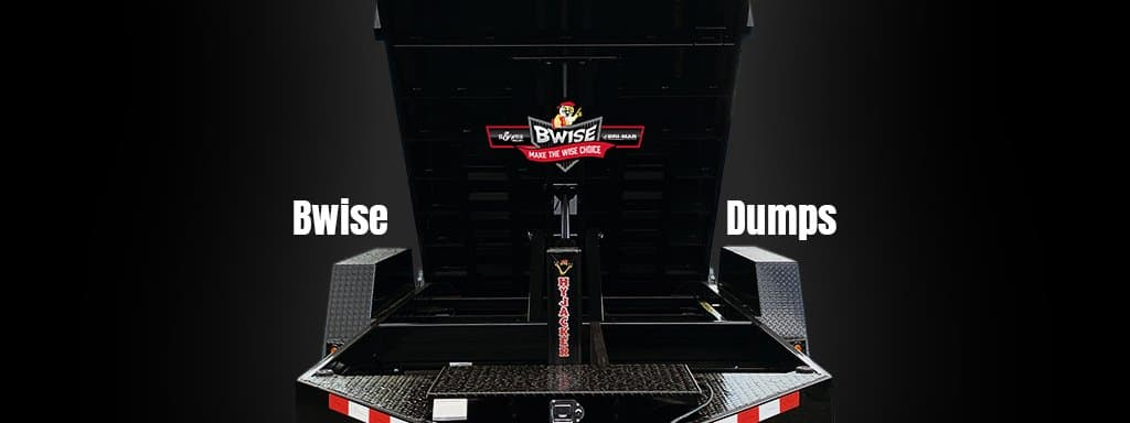 Blackout Bwise Dump Trailer for sale