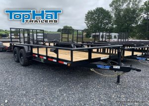 BLACK TOPHAT EQUIPMENT LANDSCAPE TRAILER FOR SALE NEAR ME