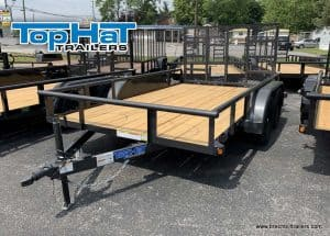 GRAY UTILITY LANDSCAPE TRAILER FOR SALE NEAR ME