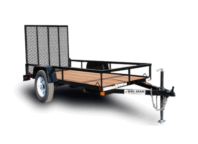 Utility and Landscape Trailer Bri-Mar Trailers For Sale