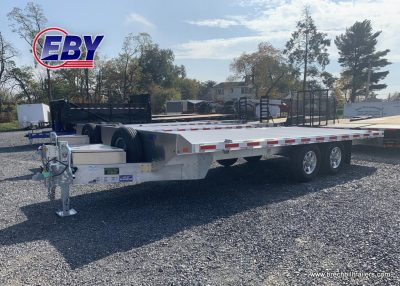 EBY Deck-Over Equipment Trailer Straight Deck Aluminum For Sale Near Me