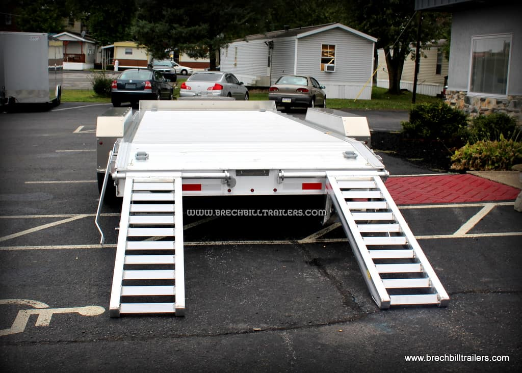 aluminum fender style low pro equipment trailer for sale near me