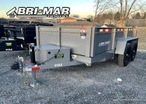 GRAY STEEL DUMP TRAILER BRI-MAR TRAILERS FOR SALE NEAR ME