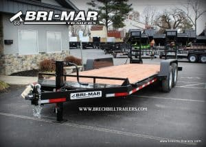 BLACK STEEL BRI-MAR EQUIPMENT TRAILER FOR SALE NEAR ME