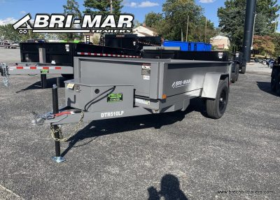 HTONE GRAY DUMP TRAILER FOR SALES