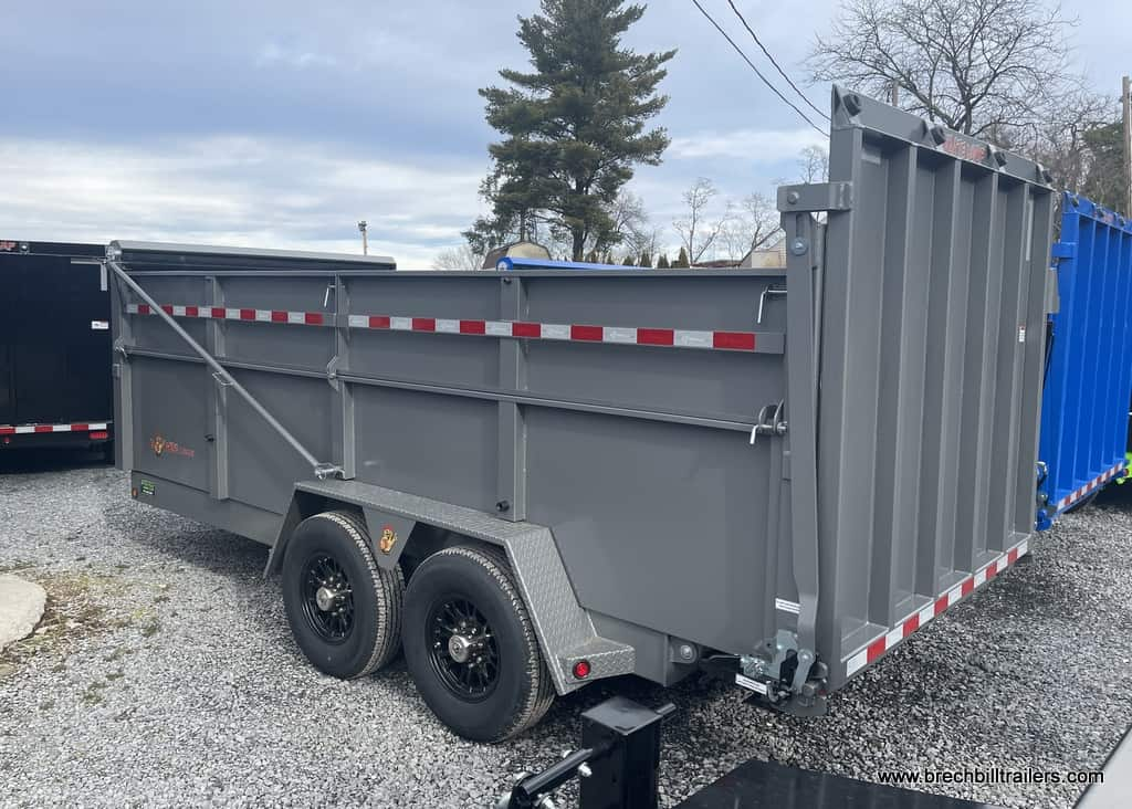 NEW BIG STEEL DUMP TRAILER FOR SALE NEAR ME