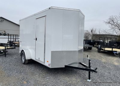 ENCLOSED STEELE CARGO TRAILER FOR SALE