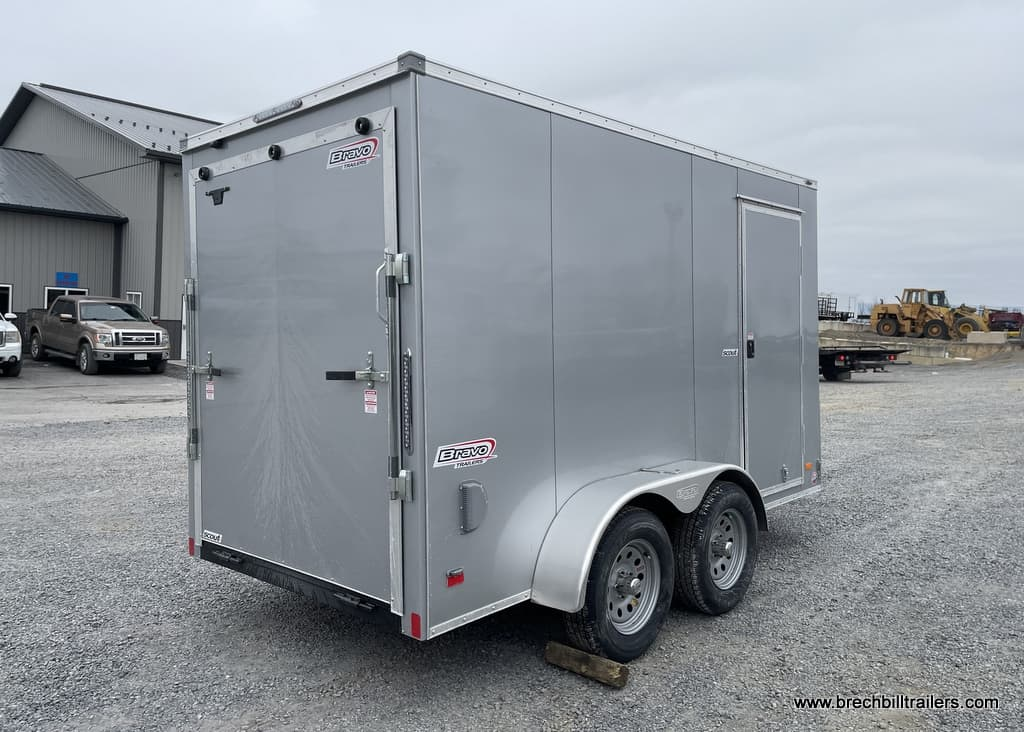 STEEL BRAVO CARGO BOX ENCLOSED TRAILER FOR SALE NEAR ME