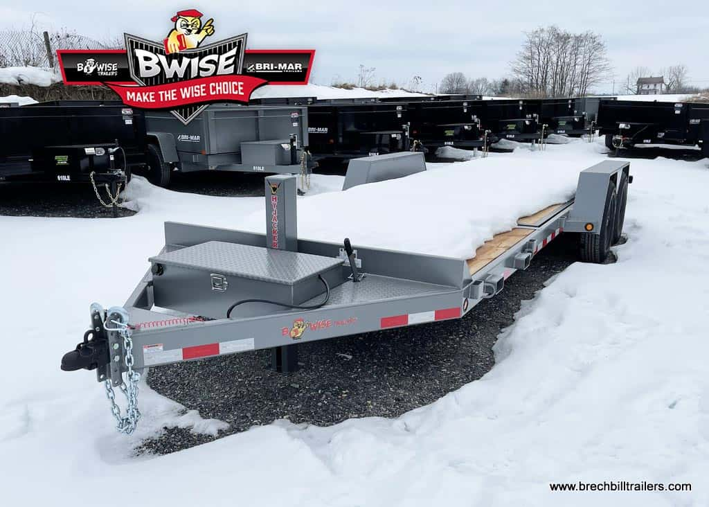 LOW PRO HYDRAULIC TILT STEEL TRAILER