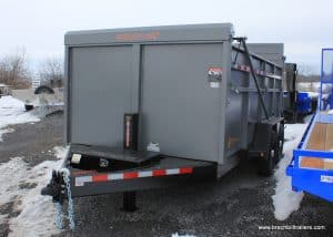 ULTIMATE DUMP TRAILER FOR SALE HTONE GRAY