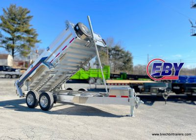 ALUMINUM DUMPPING DUMP M H EBY TRAILER FOR SALE