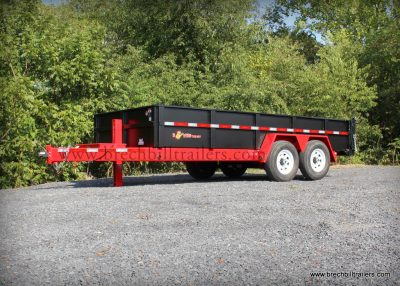 BWISE DUMP TRAILER FOR SALE