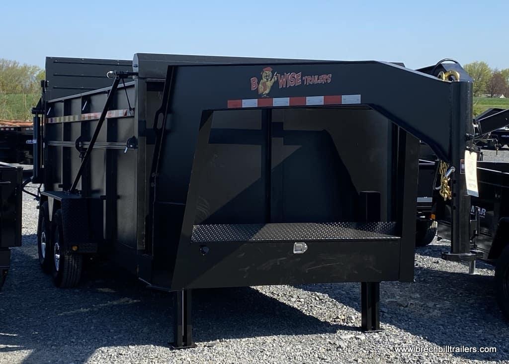 DUMP TRAILER GOOSENECK FOR SALE BLACK TARP KIT