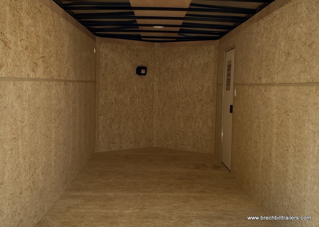 STEEL ENCLOSED CARGO BOX TRAILER FOR SALE