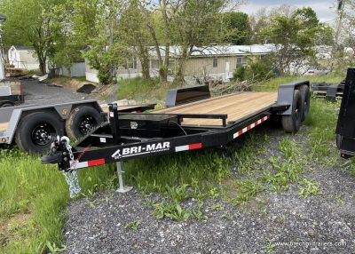 BLACK STEEL EQUIPMENT TRAILER FOR SALE