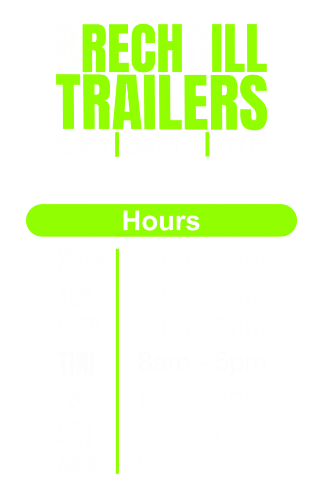 Our Hours Sign on Front Door