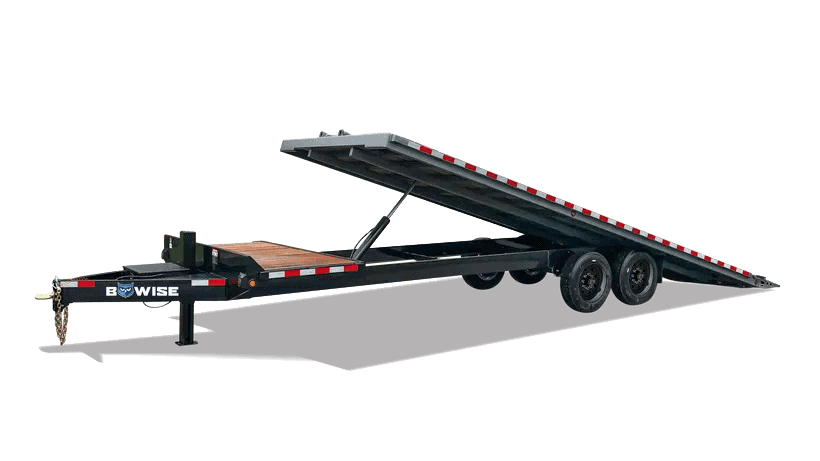 Bwise Trailer for sale with new Bwise Logo 2021 Tilt Deck Over