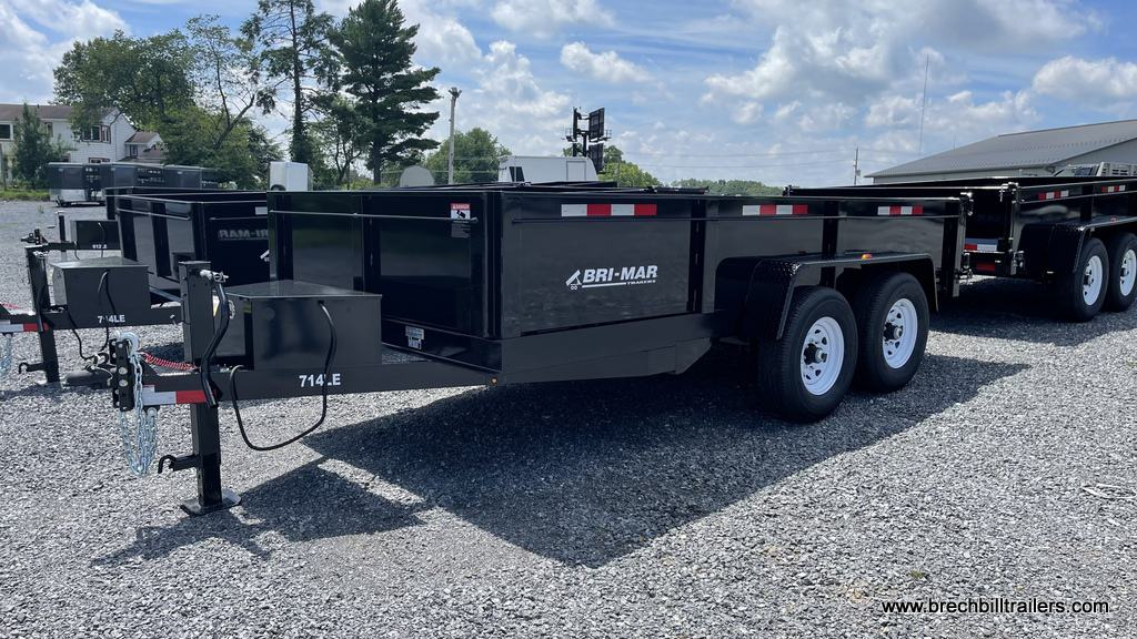 black steel dump trailer for sale near me